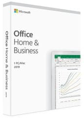 Microsoft Office Home & Business 2019 programska oprema, SLO, 1 PC