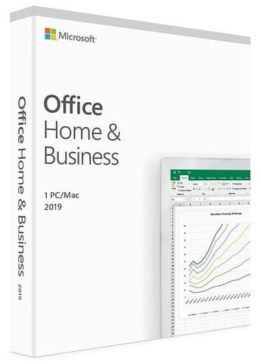 Microsoft Office Home & Business 2019 programska oprema, SLO, 1 PC