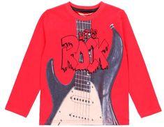 Boboli chlapecké tričko ROCK STAR 162 červená