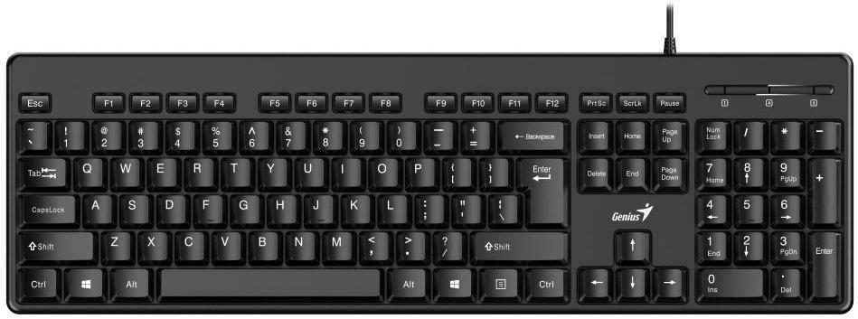 Genius KB-116, CZ/SK (31300008403)