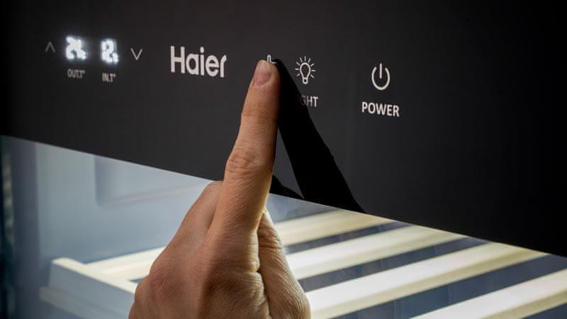 Vinotéka Haier WS50GA digitální displej
