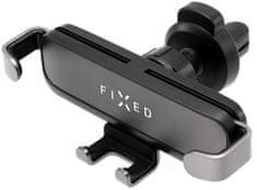 FIXED Kompaktní univerzální držák Gravity s uchycením do mřížky ventilace anebo na palubní desku, antracitový FIXH-GR-AN