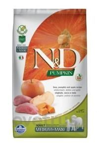 N&D Pumpkin DOG Adult M/L Boar & Apple 12 kg