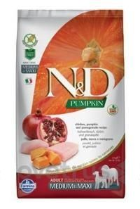 N&D Pumpkin DOG Adult M/L Chicken&Pomegranate 12 kg