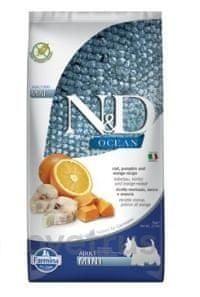N&D OCEAN DOG Adult Mini Codfish&Pumpkin&Orange 7 kg