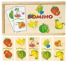 Woody Domino Gyümölcsök