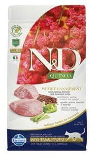 N&D Quinoa CAT Weight Management Lamb & Broccoli 1,5 kg