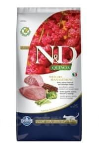 N&D Quinoa CAT Weight Management Lamb & Broccoli 5 kg