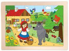 Woody Puzzle Piroska és a farkas