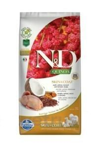 N&D Quinoa DOG Skin & Coat Quail & Coconut 7 kg