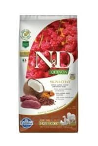 N&D Quinoa DOG Skin & Coat Venison & Coconut 7 kg