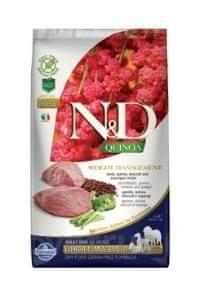 N&D Quinoa DOG Weight Management Lamb & Broccoli 2,5 kg