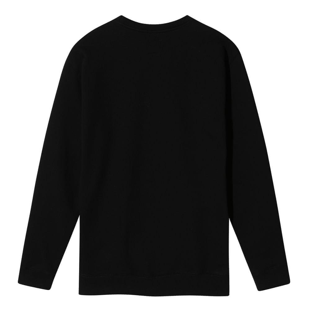 Vans pánská mikina MN Vans Classic Crew Black/White XL černá