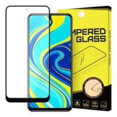 MG Full Glue Super Tough zaščitno steklo za Xiaomi Redmi Note 9 Pro / Redmi Note 9S, črna