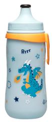 NIP láhev Kids cup, 330 ml, kluk, s pítkem