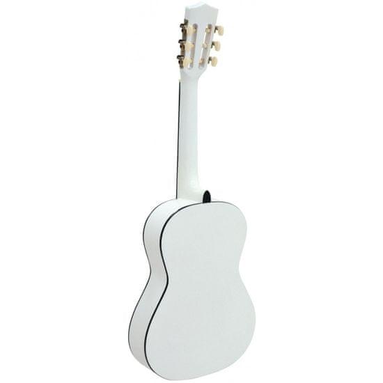 Dimavery AC-303, klasická kytara 1/2, bílá