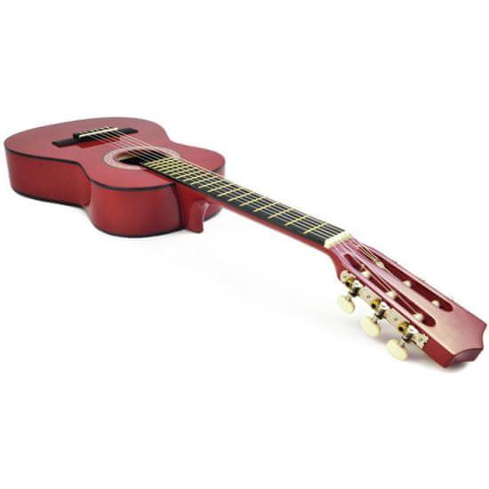 Dimavery AC-303, klasická kytara 1/2, červená