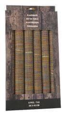 Marex Trade Obojstranné prestieranie 30 × 45 cm, 6 ks