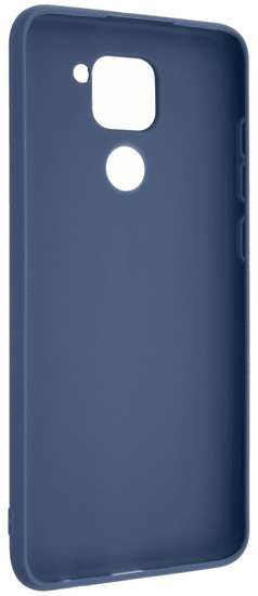 FIXED Zadní pogumovaný kryt Story pro Xiaomi Redmi Note 9 FIXST-517-BL, modrý