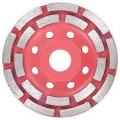 shumee Diamentowa tarcza szlifierska z podwójnym rzędem, 115 mm