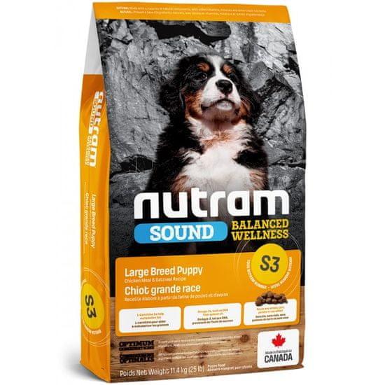 Nutram Sound Large Breed Puppy hrana za psičke, 11,4 kg