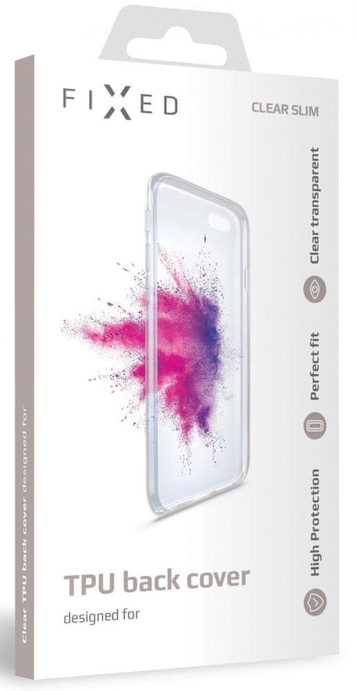 FIXED TPU gelové pouzdro pro Xiaomi Mi10 Lite FIXTCC-534, čiré