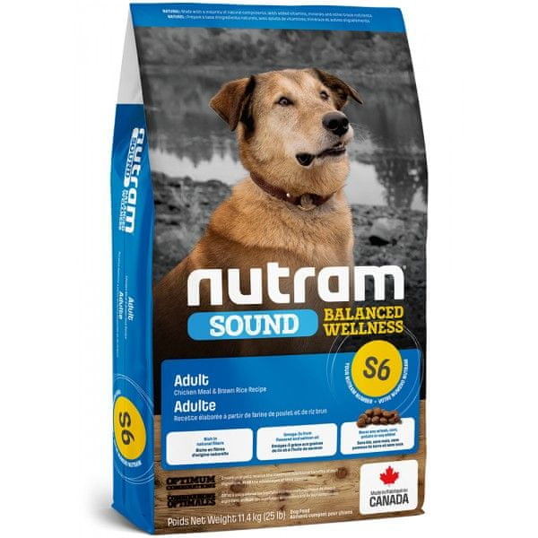 Nutram Sound Adult Dog 2 kg