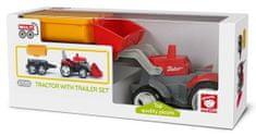 Multigo Igráček 1 + 2 Traktor s prívesom