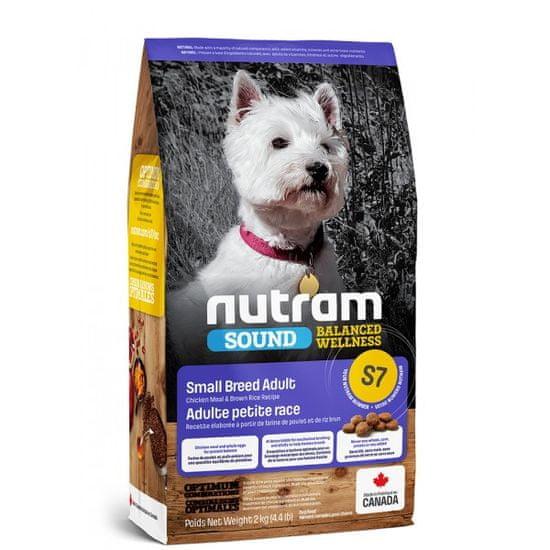 Nutram Sound Small Breed Adult hrana za pse, 2 kg