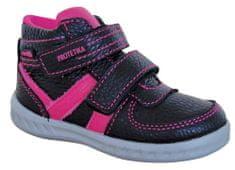 Protetika dívčí celoroční obuv SENDY BLACK 72052 22 černá