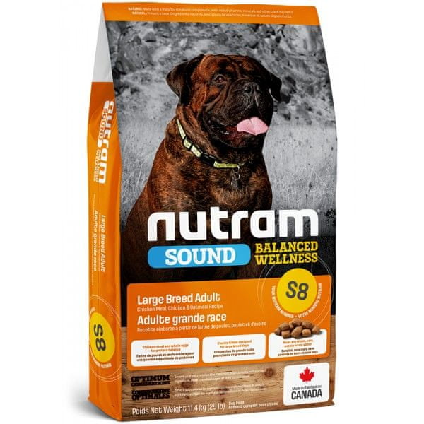 Nutram Sound Large Breed Adult Dog 11,4 kg