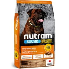 Nutram Sound Large Breed Adult Dog hrana za pse, 11,4 kg