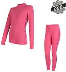 Sensor ženski set majice + hlače Original Active, L, roza