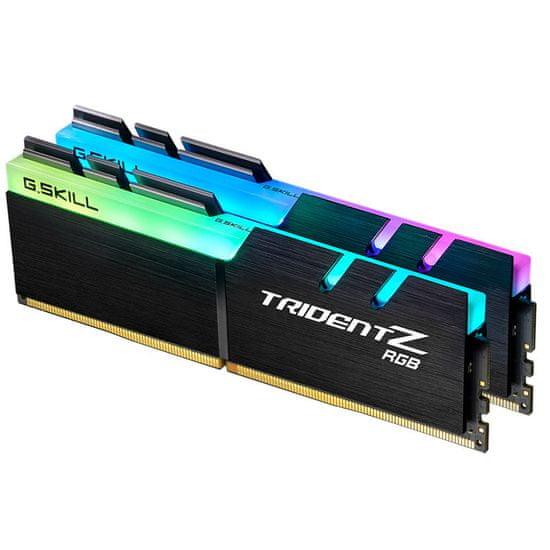 G.Skill Trident Z RGB pomnilnik (RAM), DDR4 16 GB (2x8GB), 3000 MHz, CL16 (F4-3000C16D-16GTZR)