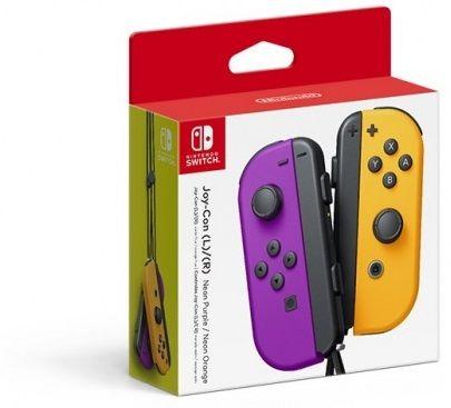 Nintendo Switch Joy-Con Pair, fialová/oranžová (NSP078)