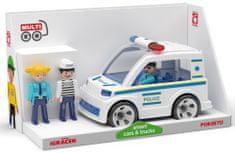 Multigo Igráček Trio Polícia