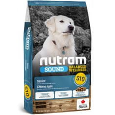 Nutram Sound Senior Dog eledel, 11,4 kg