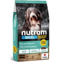 Nutram Ideal Sensitive Dog hrana za odrasle pse z občutljivo prehrano, 11,4 kg