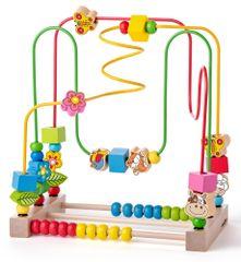 Woody Labirint za motoriku s abakusom i životinjama