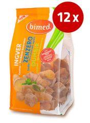 Bimed ingver, kandirani kosi, brez konzervansov, 12 x 200 g