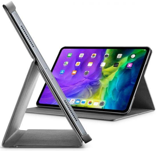 CellularLine Pouzdro se stojánkem Folio pro Apple iPad Pro 12,9″ (2020) FOLIOIPADPRO20129K, černé