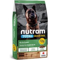 Nutram Total Grain Free Lamb, Legumes Dog hrana za občutljive pse, 11,4 kg