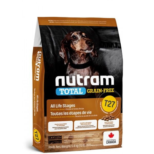 Nutram Total Grain Free Small Breed Turkey Dog 5,4 kg