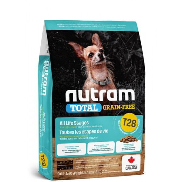 Nutram Total Grain Free Small Breed Salmon Dog 2 kg