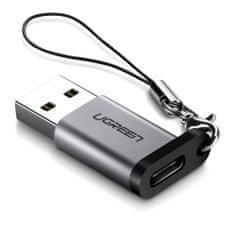 Ugreen USB-A 3.0 na USB-C adapter, siv