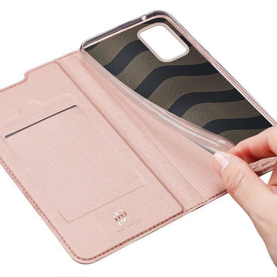 Dux Ducis Skin Pro knjižni usnjeni ovitek za Samsung Galaxy A71 5G, roza