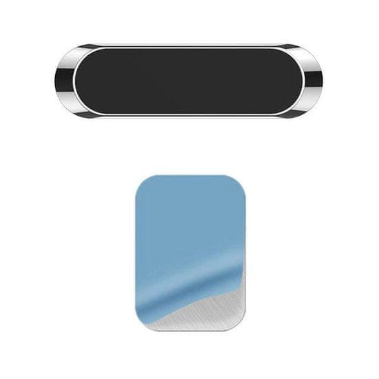 MG Flat magnetni avtomobilsko držalo na armaturni plošči, črna