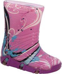 Zetpol dekliški škornji szuwarek 33, 35/36, roza