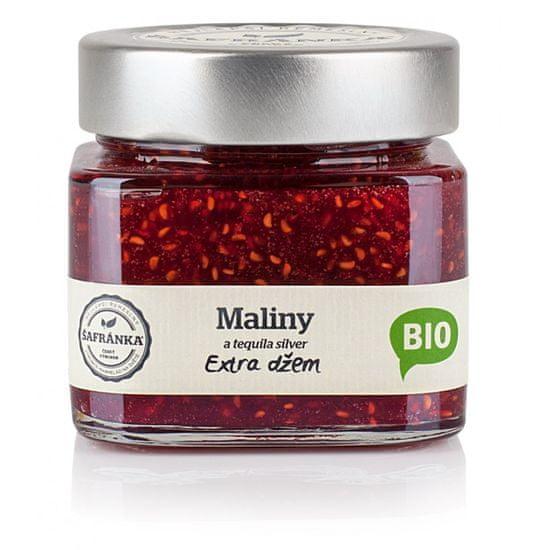 Marmelády Šafránka Bio maliny s tequilou džem 270g