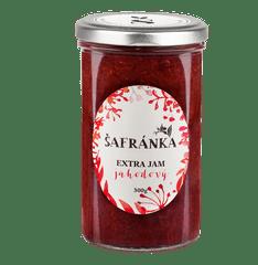 Marmelády Šafránka Extra džem jahodový 300g